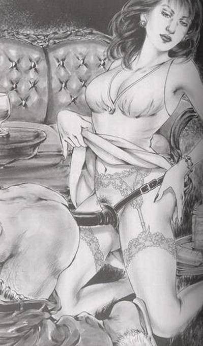 Femdom Art And Drawing